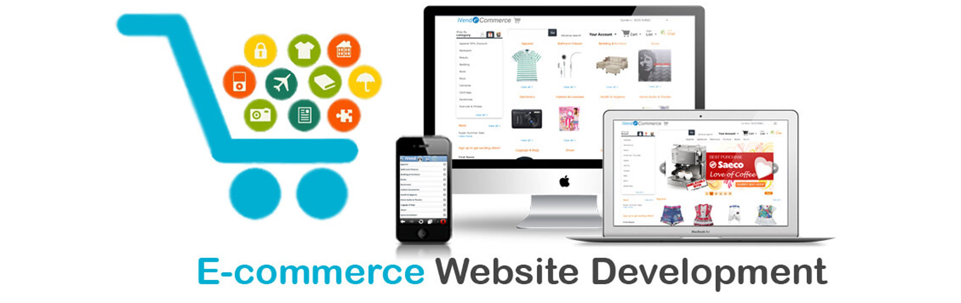 E-Commerce Designing & Development