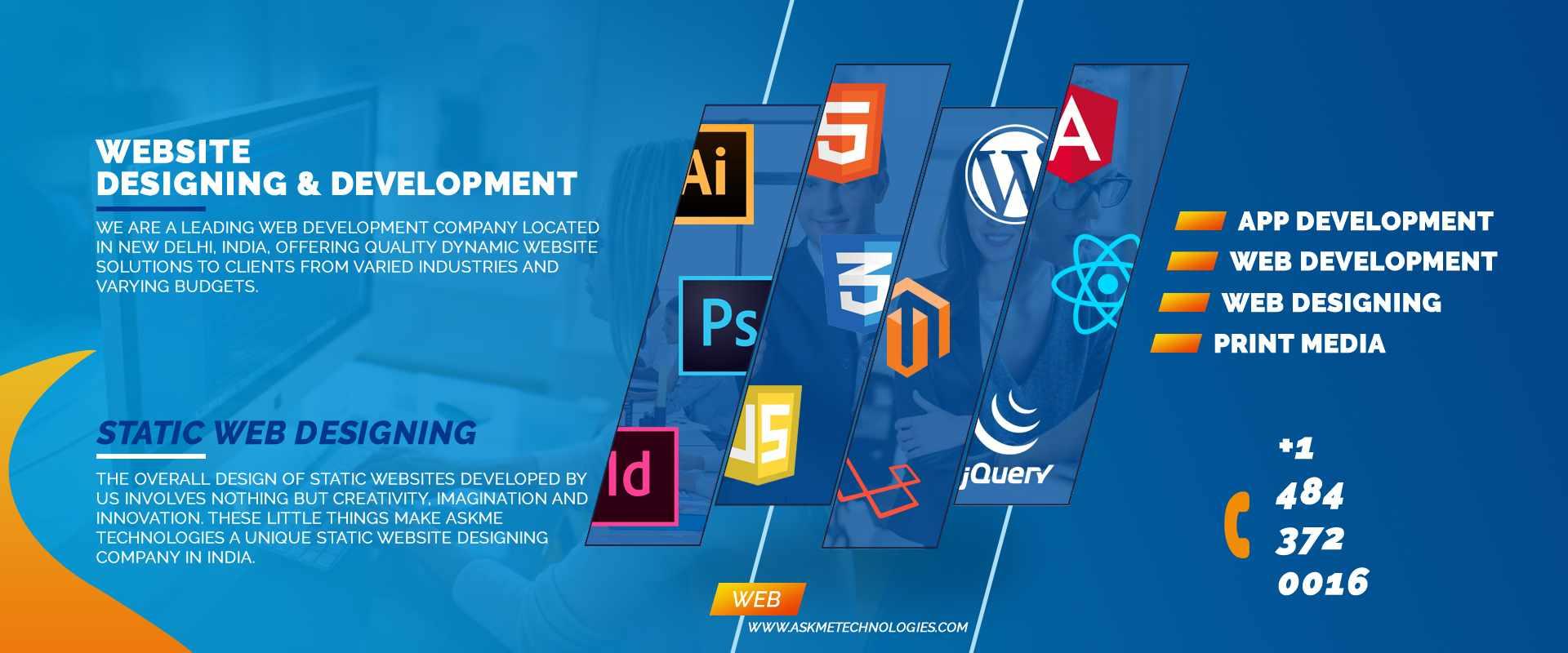 Website Design & Web Development Company in India - Askme Technologies